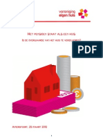 Rapport Pensioen Staat Als Een Huis
