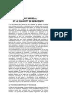 Pierre Michel, « Octave Mirbeau et le concept de modernité »