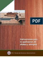 Manual de instalación de shakes o shingles