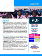 UNICEF Haiti Quarterly Report