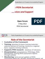 PEFA Secretariat Services Sinnett ENG