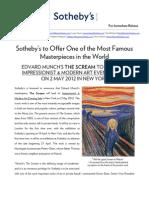Press Release Sothebys Scream