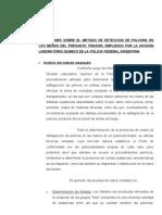 DERMOTEST - ASPECTOS NEGATIVOS