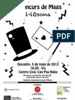 1r Concurs Mags Il·lOsona