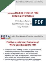 PEFA Better Understanding Trends- Wescott--EnG