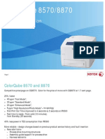 ColorQube 8570 and 8870 Service Orientation