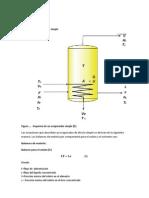 Diseño de un evaporador simple