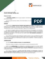 Serveco - Reforma Laboral 2012