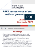 Sub National Evaluation PEFAsecretariat En