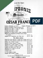 Franck - Symphonie