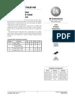 Hoja de Datos de Compuerta 74ls14