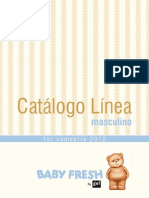 Baby Fresh Linea 1-2012 Masculino