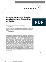 Ch04 Stress,Strain and Shearing Analysis of Soil
