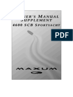 Maxum 4600 Supplement