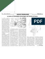 La Carta di Potenzialità Archeologica del Comune di Parma