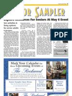 Senior Sampler SCT May 5, 2012