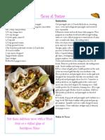 Cinco de Mayo Wine Pairing for Tacos al Pastor