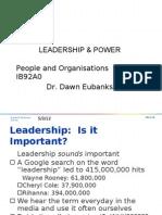 Week8.Leadership Power