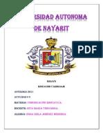 Universidad Autonoma de Nayarit Rita Maria