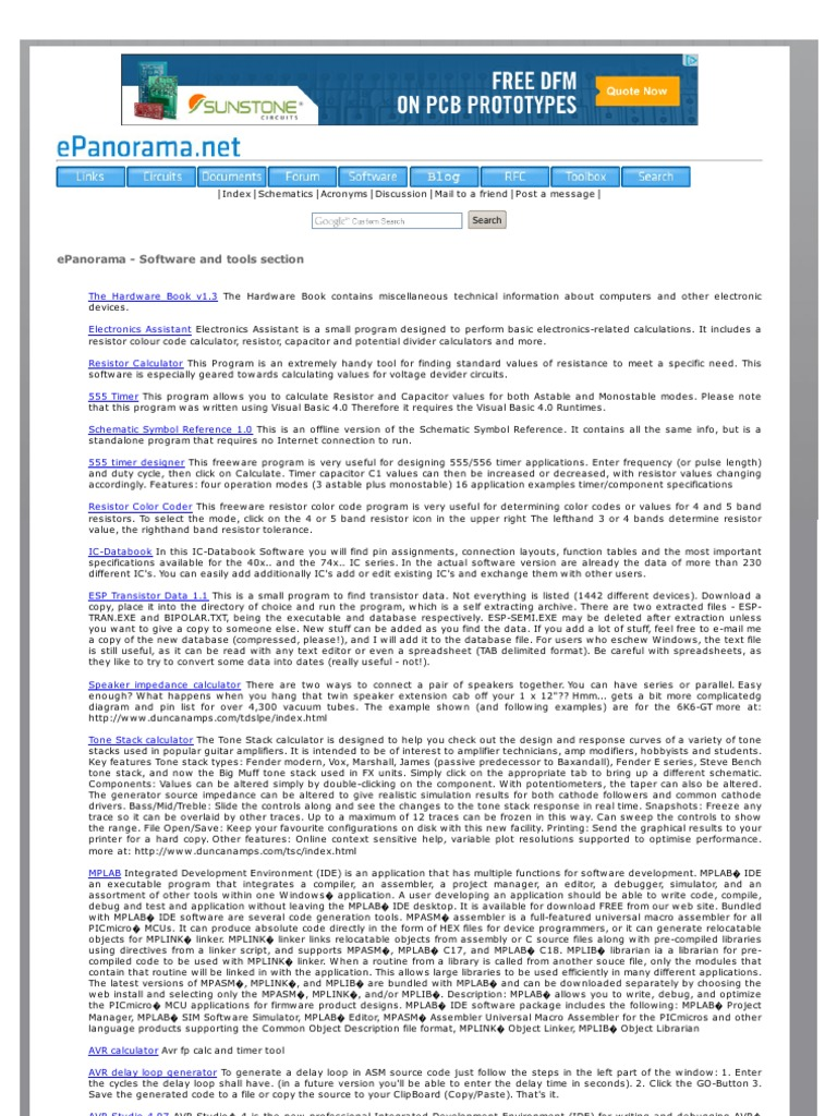Www Epanorama Net | Spice | Portable Document Format