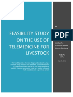 Feasibility Study on the Use of Telemedicine for Livestock FINAL
