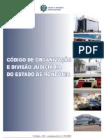CÓDIGO ORGANIZAÇÃO JUDICIÁRIA