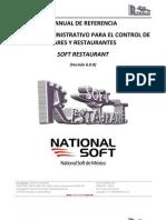 Soft Restaurant 6.0 - Manual de Refer en CIA