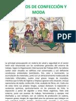 SEÑALIZACION - TRABAJOS DE CONFECCIÓN Y MODA