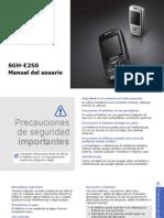 Manual Samsung E250i-Espanol