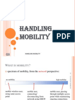 f Handling Mobility