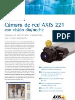Ficha Tecnica Camara Axis 221