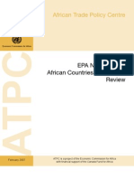 UN-ATPC - EPA Negotiations - African Countries Continental Review