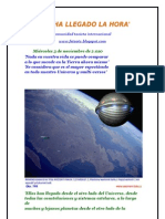 HA LLEGADO LA HORA 2012 y El Gran Salto Cuantico