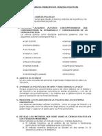 Cuestionarios 1 2 3 Ciencia Politica