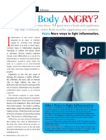 """IS YOUR BODY ANGRY?""  (Joint Inflammation)"