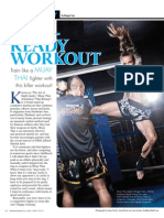 """""""RING READY WORKOUT"""" - Train like a Muay  Thai fighter with  this killer workout!"""
