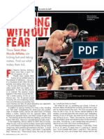 FIGHTING WITHOUT FEAR - Mauricio Herrera