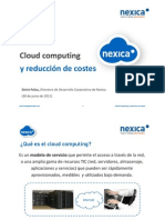 20110630nexicacloudcomputingyrelacindecostes-110630090341-phpapp01