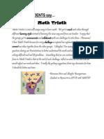 sa 4 math triath student reflection