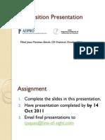ICB Position.presentations.ocdp AEIPRO.spain