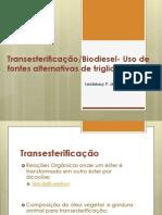 Transesterificação