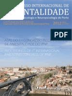 LIVRO DE ATAS | 1.º Congresso Internacional de Parentalidade do Instituto de Psicologia e Neuropsicologia do Porto