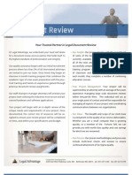 Document Review Service Offering