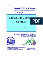 Surf Act Ants in Aquous Solutions_FRP Booklet
