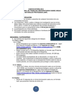 Convocatoria de Trabajos Universitarios Conanp 2012