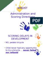 MMDST Scoring