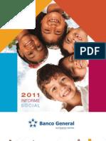 Informe Social 2011-Banco General