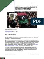 The USNATO Attempted Coup d'Etat in Libya