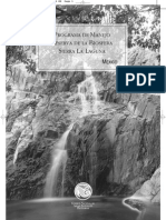 Programa Sierra La Laguna