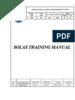PART 1 a Solas Training Manual